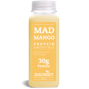 Mad Mango Protein Smoothie flaske front