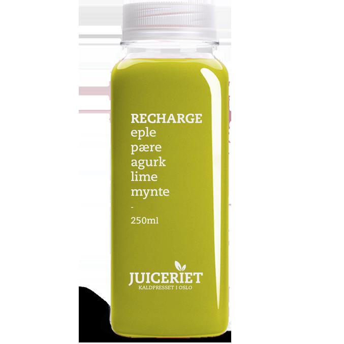 Juiceriet Recharge flaske front